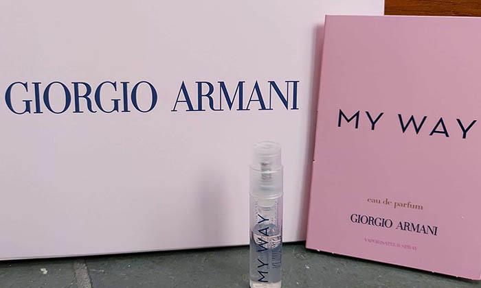Armani My Way Free Sample Arrived!