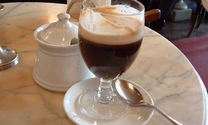 Bicerin Chocolate Coffee Drink