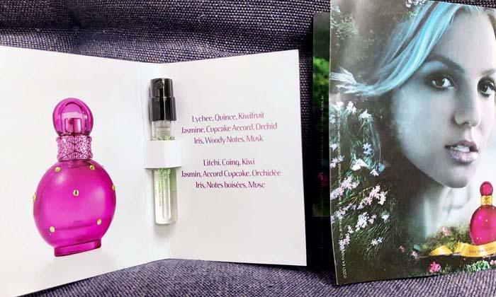 Britney Spears Fantasy Perfume Free Sample Proof