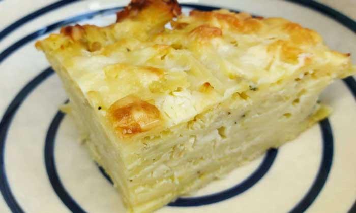 Caribbean Macaroni & Cheese Pie Recipe