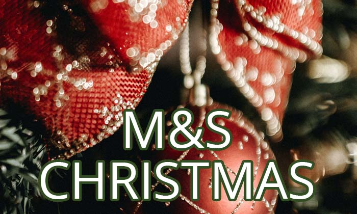 Christmas 2021 at M&S