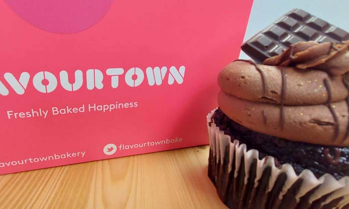 Flavour Town make the best vegan cakes