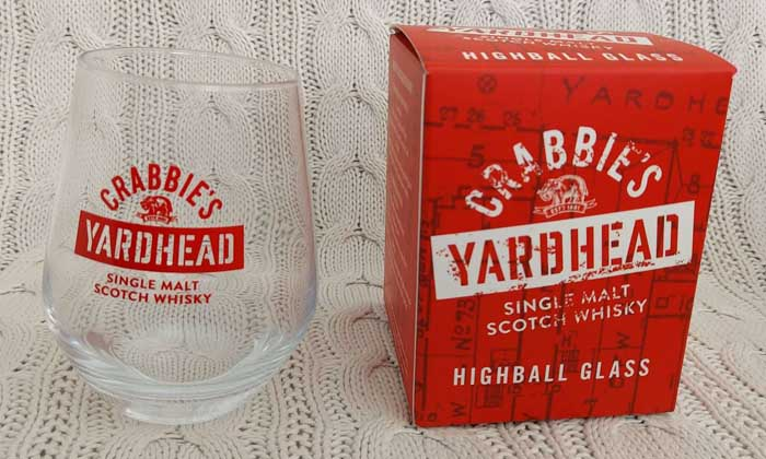 Free Stuff Proof - Crabbie's Whisky Glass Arrived