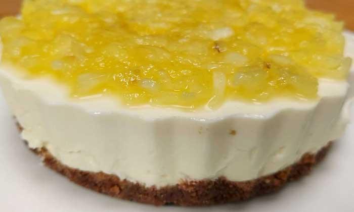 Gluten Free Crushed Pineapple Cheesecake