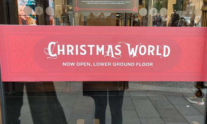 Harrods Christmas World 2021 is a must see