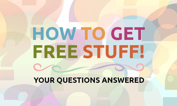 How to get free stuff