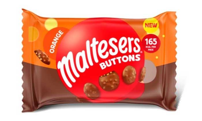 Maltesers Orange Buttons Launch