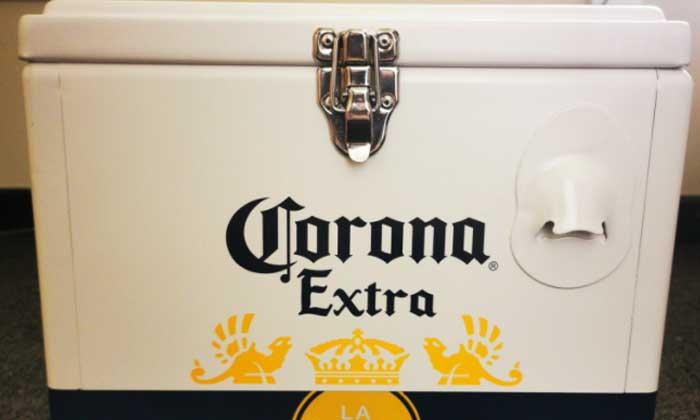 Free Stuff Proof - Corona Beer Cooler