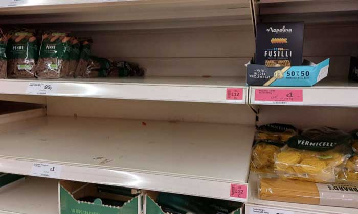 Tesco warns Christmas panic buying could be worse than in lockdown