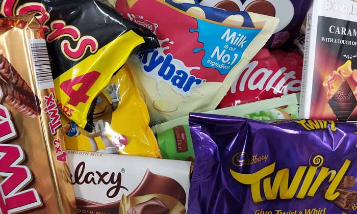 Vote for your favourite chocolate brand