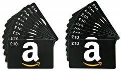 20 Pack of Amazon.co.uk £10 Gift Cards