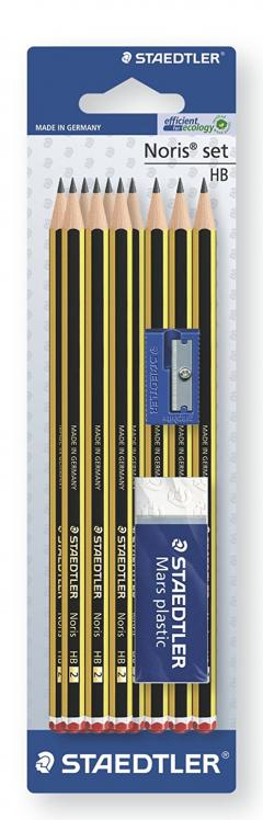 £3 for 10 Pack Staedtler Noris Pencils HB
