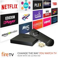 £10 off Certified Refurbished Amazon Fire TV 4K Ultra HD