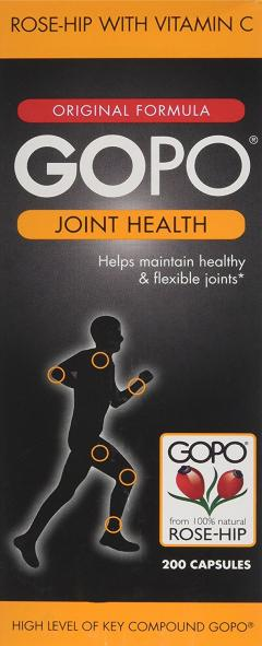 £25 for 200 Pack of Gopo Rose Hip Joint Health Capsules