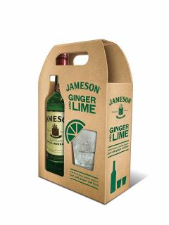 20% off Jameson Irish Whiskey with 2 Glasses, 70 cl
