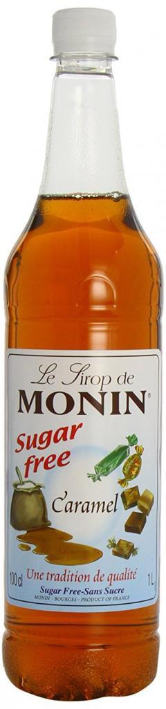 £3 off Monin Premium Caramel Sugar Free Syrup 1 L