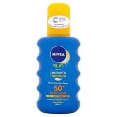 66% off Nivea Sun Protect and Moisture Sun Spray