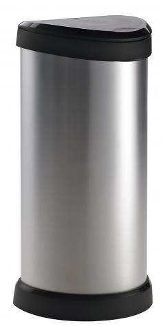 62% off One Touch Deco Bin, 40 L - Silver