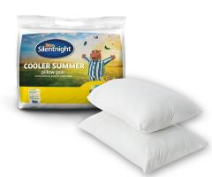 Pack of 2 Silentnight Cooler Summer Pillow Just £12