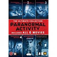 Paranormal Activity Ultimate Edition -6 Movies Under �20.00