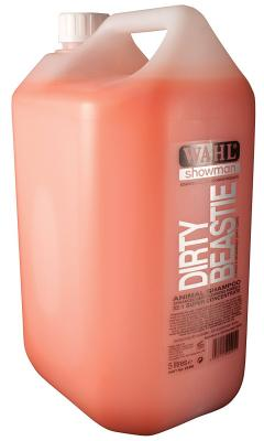 45% off Wahl Showman Dirty Beastie Shampoo 5 Litre
