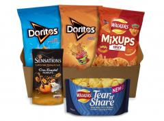 £6 for Walkers Doritos and Sensations Crisps & Snacks Party