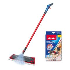 £7 off 1-2 Spray Microfibre Flat Spray Mop