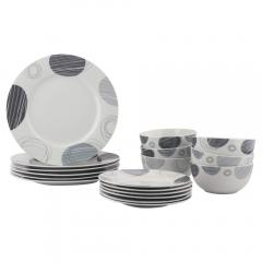 £23.99 for 18-Piece Dinnerware Set - Spotted