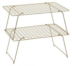 54% off 2-Tier Stackable Wire Cooling Rack