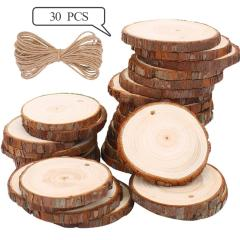 54% off 30 PCS Wood Slices 6-7 cm Natural Wood Slices
