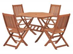 £60 off 4 Seater Dining Set, with Octangonal Table