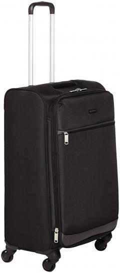 32% off AmazonBasics Softside Spinner Luggage, 25-inch