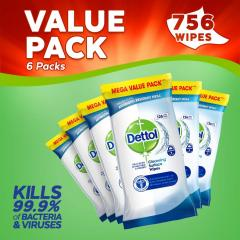 57% off Antibacterial Surface Cleaning Wipes