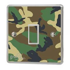 25% off Army Camouflage Light Switch Sticker Vinyl