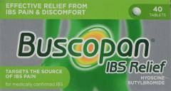 £4 for Buscopan IBS Relief, Pack of 40 Tablets