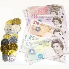 £3 for Children Fake Money Play Set Ideal Set for Kids