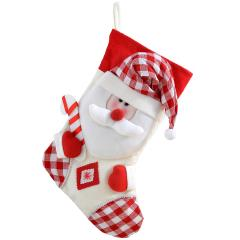 13% off Christmas Stocking with 3D Santa Claus Head