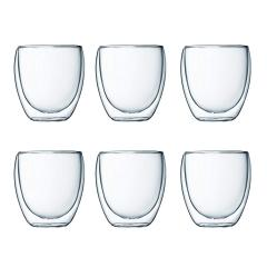56% off Double Walled Thermo Glasses 0.25 L