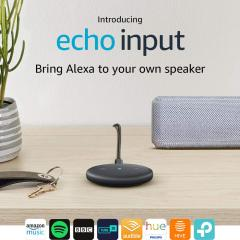 £15 off Echo Input (Black) – Bring Alexa to your own speaker