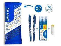 £14.29 for Erasable Rollerball 0.7mm Tip Twin Pack