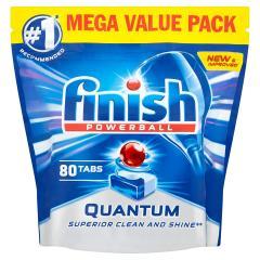 50% off Finish Quantum Powerball Dishwasher Tablets