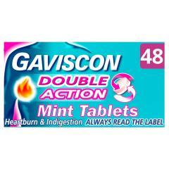 33% off Gaviscon Double Action Heartburn Indigestion Tablets