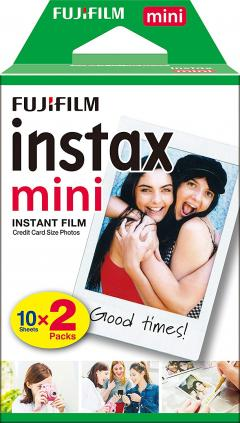 21% off instax mini Film, 20 shot pack