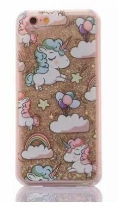 £15 off iPhone 7 Hard Protective Glitter Unicorn Phone Case