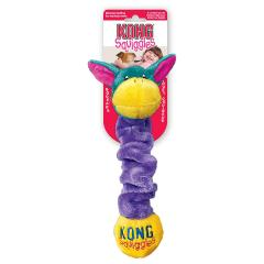 30% off KONG Squiggles Dog Toy - Large, Blue