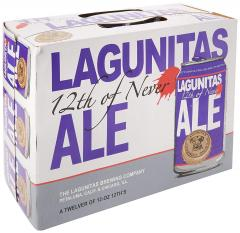 30% off Lagunitas 12th of Never Beer Cans, 12 x 355 ml