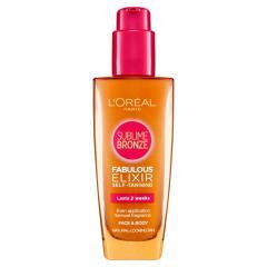 39% off L'Oréal Sublime Self-Tanning Elixir, 100 ml