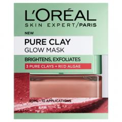 41% off L'Oreal Paris 3 Pure Clays and Red Algae Glow Mask