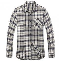 £13.59 for Men's Long Sleeve Plaid Flannel Shirt