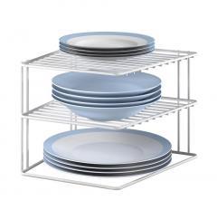£8.99 for Metaltex Silos Corner Shelf Insert, White